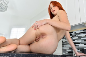 Fat Ass Redhead Booty Spreading