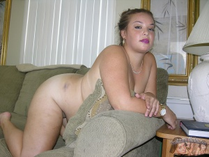 Chubby Naked BBW Plumper