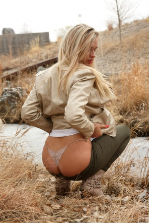 Amateur Blonde with a Nice Ass