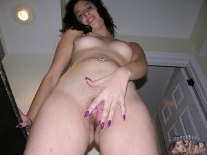Amateur Latina POV Pussy Spreading