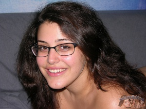 Amateur Teen Girl with Glasses