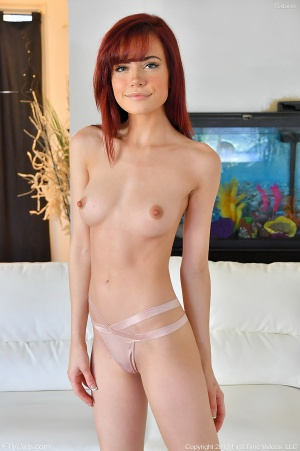 Hot Redhead Teen with Perky Tits