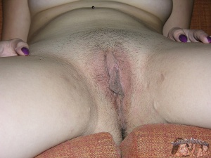 Big Ass Amateur Pussy and Hairy Asshole Spreading