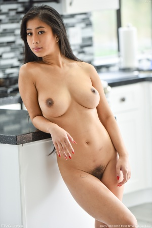 Big Ass Asian Girlfriend with Huge Natural Tits