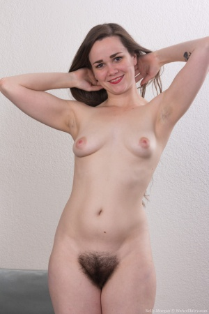 Super Wide Hips and a Super Hairy Pussy