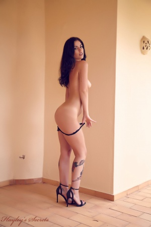 Nice Ass Latina Thong Booty Undressing