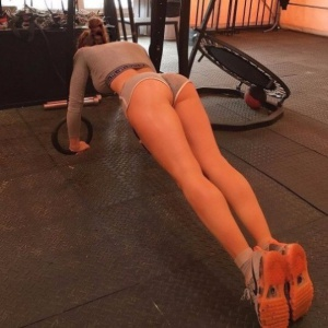 Amateur Gym Ass Creepshot