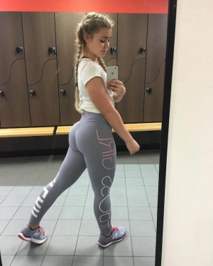 Big Booty Gym Workout