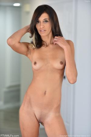 Skinny Mature Brunette Nude