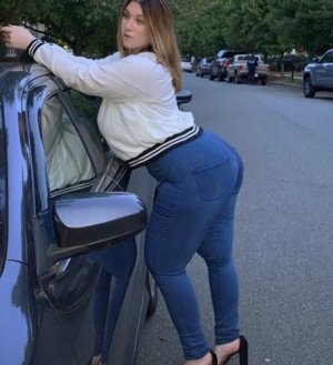 Big Booty Moms in Tight Jeans and High Heels