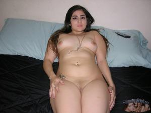 Big Fat Ass Latina Teen with Thick Thighs