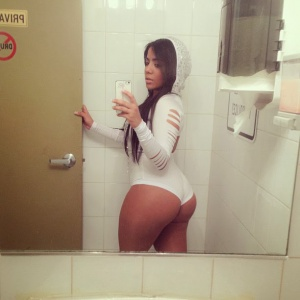 Big Ebony Ass Cheeks