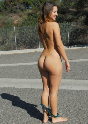 Candid Tanned Ass Public Nudity