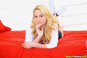 18yo Tanned Blonde Schoolgirl