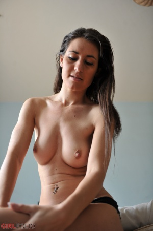 Curvy Amateur Brunette with Perfect Tits