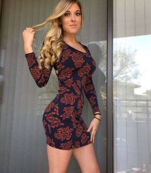 Bubble Butt MILF in a Minidress