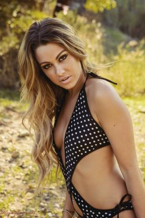 Seductive Latina Bikini Babe