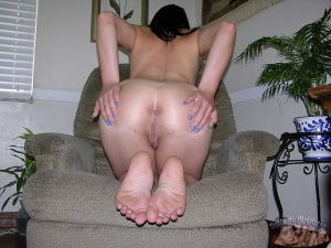 Chubby Ass Spread Wide Open