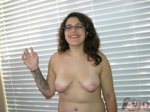 Chubby BBw Amateur Teen Girl with Huge Nipples