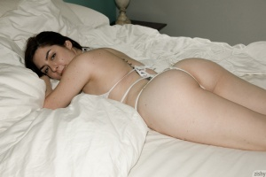 Chubby White Teen with a Huge Ass