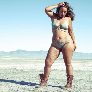 Thick Cellulite Thighs and Saggy Stretch Marks