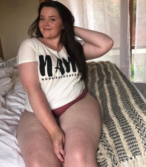 Fat White Ass and Juicy Thick Thighs