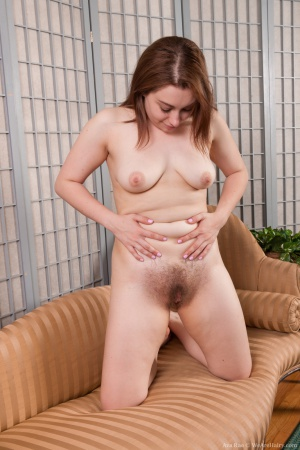 Chubby Redhead PAWG with an Extremely Hairy Pussy