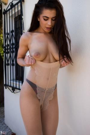 Big Ass Latina MILF in Pantyhose