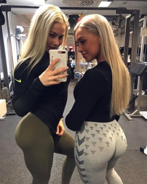 Athletic Gym Ass Fitness Booty