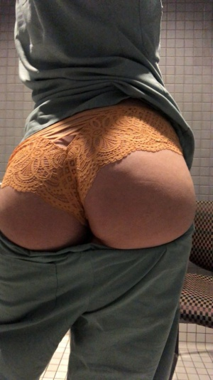 Huge White Ass Cheeks