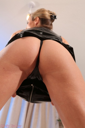 Latex Thong Booty POV Close Up