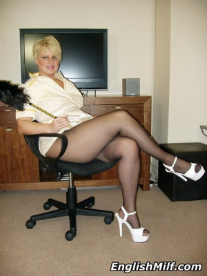 Mature Big Ass in Pantyhose
