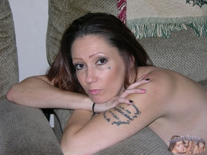 Slutty Mature Tattooed Biker Chick