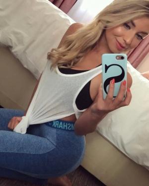 Nice Spandex Booty Selfie