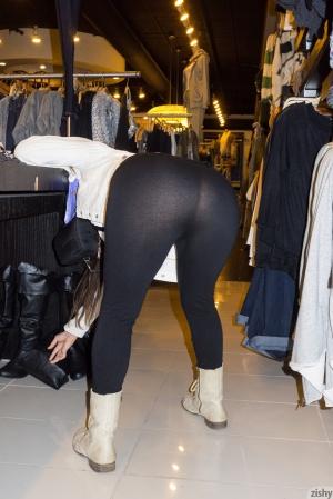 Big Ass in Spandex Public Creepshot