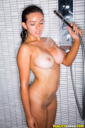 Hot Tanned Latina with Big Tits