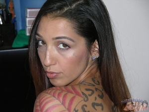 Pierced Latina Teen PAWG