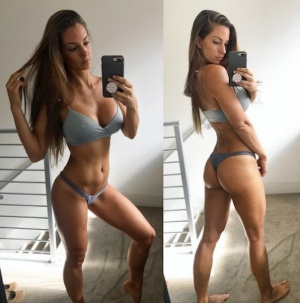Super Hot Fitness Girl with a Tight Ass