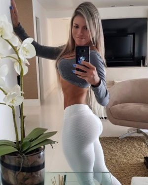 Huge Ass Athletic Fitness Girl