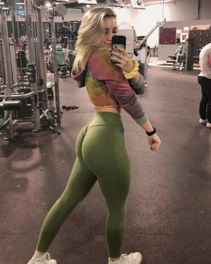 Super Thick Hips and a Big Ass in Spandex