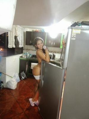 Big Ass Latina in Mini Shorts
