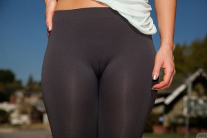 Big Ass Teen Yoga Pants Cameltoe