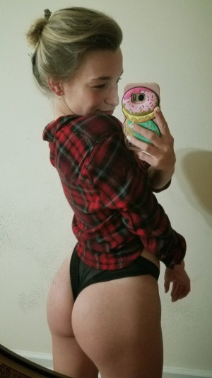 Thick Ass PAWG Booty Selfie