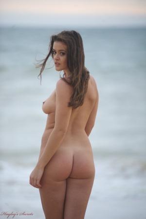 Fat Ass Nude Beach Voyeaur